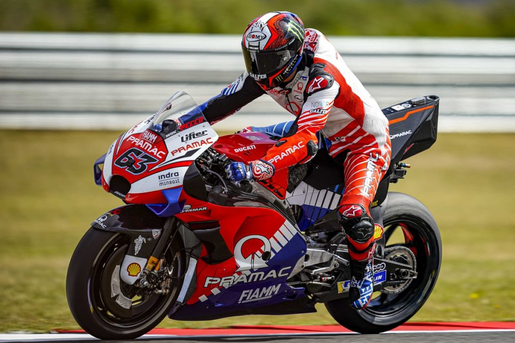 "MotoGP | Gp Assen Day 1: Bagnaia, ""Lontani, ma stiamo migliorando"""