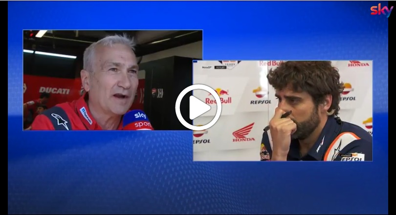 "MotoGP | Gp Mugello Qualifiche: Tardozzi (Ducati), ""Marquez è stato furbo"" [VIDEO]"
