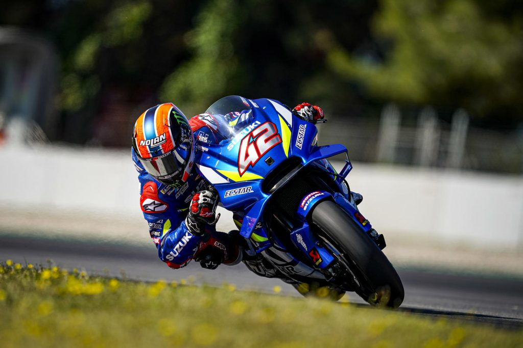 MotoGP | Test Barcellona Mattina: Rins detta il passo, in pista anche Pedrosa