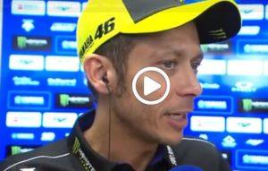 """MotoGP   Gp Assen Gara: Valentino Rossi, """"Peccato per la caduta, oggi ero più competitivo"""" [VIDEO]"""