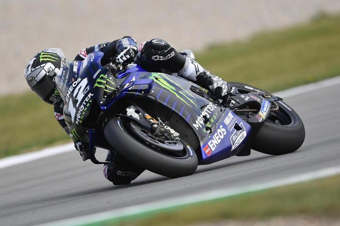 MotoGP | Gp Assen Warm Up: Vinales davanti a Dovizioso, Rossi in difficoltà