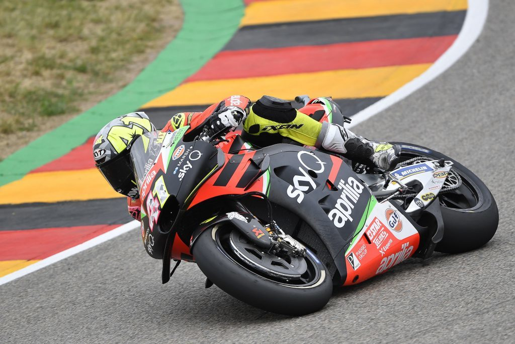 "MotoGP | Gp Germania Day 1: A.Espargarò, ""Fisicamente meglio rispetto ad Assen"""