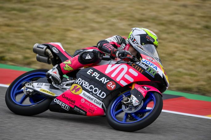 Moto3 | Gp Germania Warm Up: Arbolino precede Antonelli