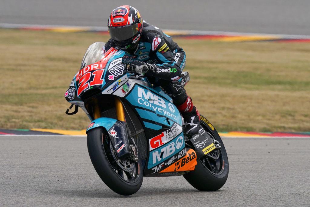 "Moto2 | GP Germania Gara: Di Giannantonio, ""Il nostro miglior weekend"""