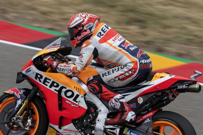 MotoGP | Gp Germania Warm Up: Marquez precede le Ducati