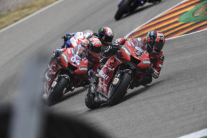 "MotoGP | Gp Germania Gara: Danilo Petrucci, ""Bella battaglia con Andrea e Jack"" [VIDEO]"