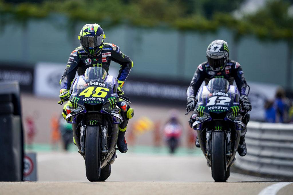 MotoGP | Rossi e Vinales proveranno la Yamaha 2020 nei test di Brno