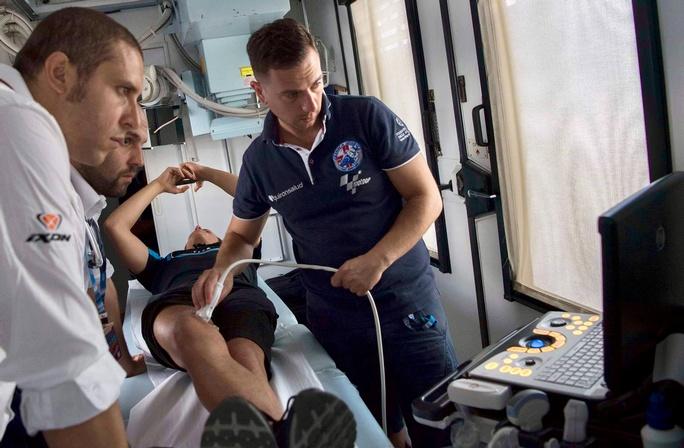 Motomondiale e Superbike, una Clinica Mobile d'avanguardia con GE HealthCare