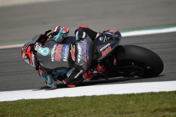 MotoGP | Gp Germania FP1: Quartararo sorprende Marquez, Rossi è terzo