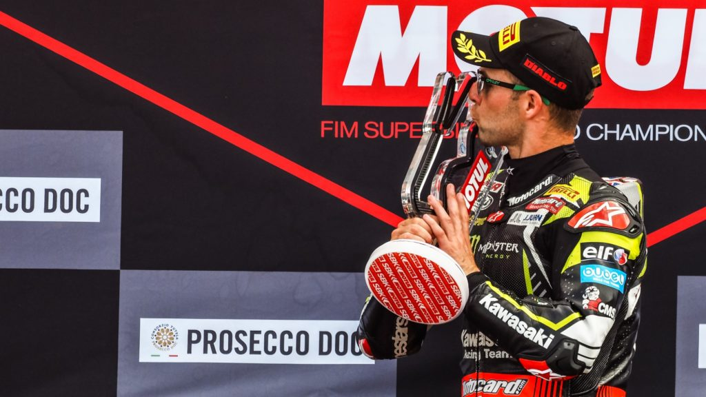 Superbike | Round Donington, Gara2: weekend perfetto per Jonathan Rea