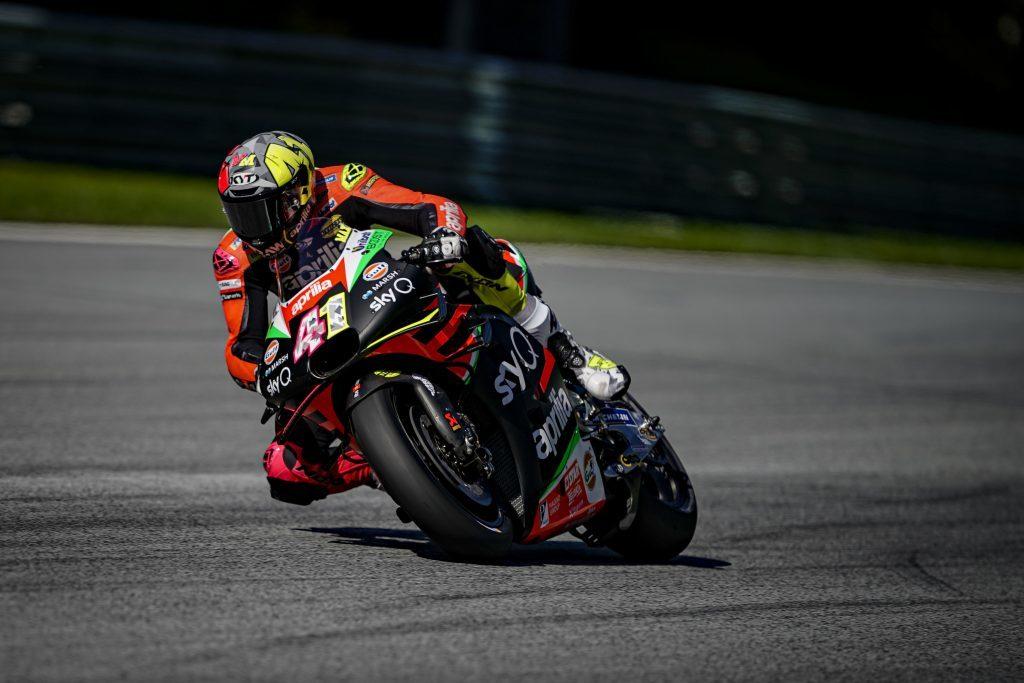 """MotoGP   Gp Austria Day 1: A.Espargarò, """"Il ritmo non è male"""""""