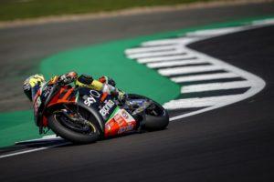 "MotoGP   Gp Silverstone Day 1: A.Espargarò, ""Oggi è andata piuttosto bene"""