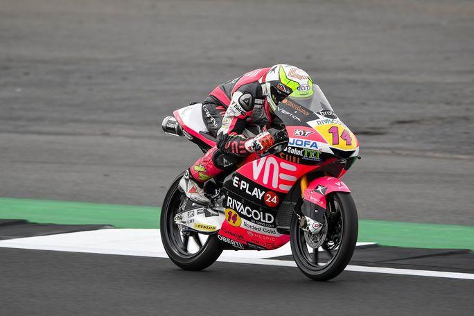 Moto3 | Gp Silverstone FP3: Arbolino davanti a Fenati