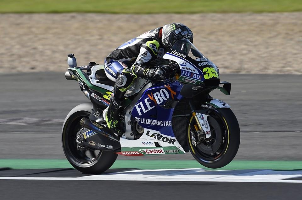 """MotoGP   Gp Silverstone Qualifiche: Crutchlow, """"Partire dalla terza fila non sarà facile"""""""
