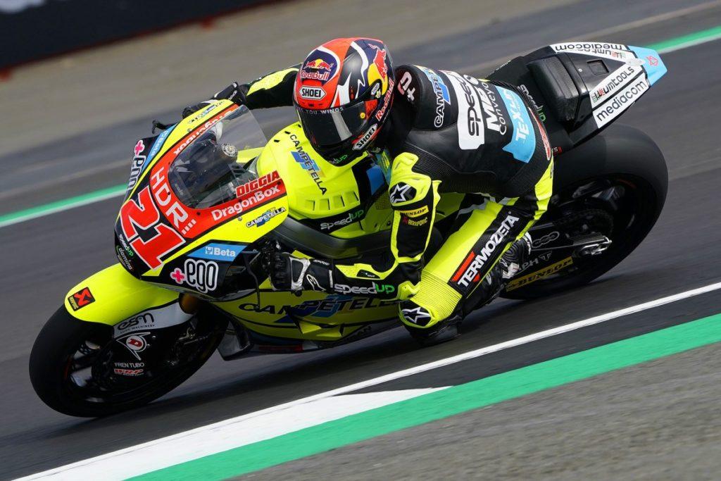 """Moto2 2019, GP Silverstone: Di Giannantonio, """"Abbiamo dimostrato che ci siamo"""""""