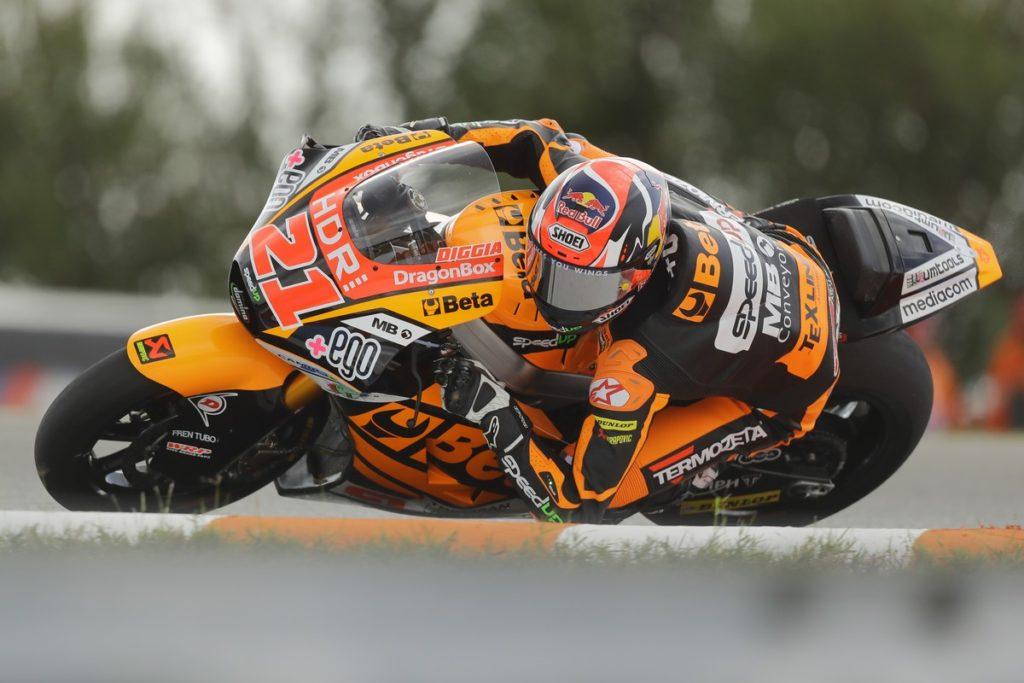 """Moto2   GP Brno FP2: Di Giannantonio, """"In ogni caso daremo gas!"""""""