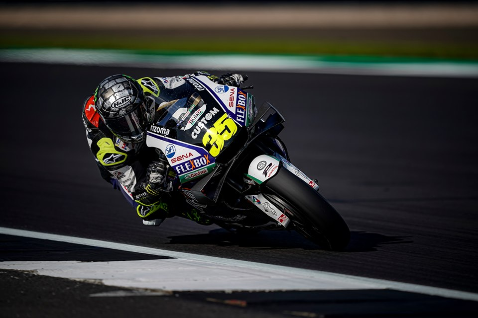 "MotoGP | Gp Silverstone Gara: Crutchlow, ""Non sentivo abbastanza grip"""