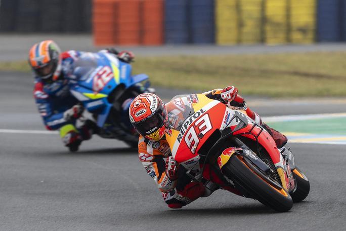 MotoGP   Gp Brno FP3: Marquez il più veloce con le rain