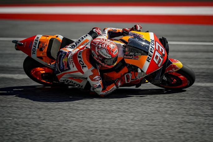 MotoGP | Gp Austria Qualifiche: Pole di Marquez, Quartararo e Dovizioso in prima fila