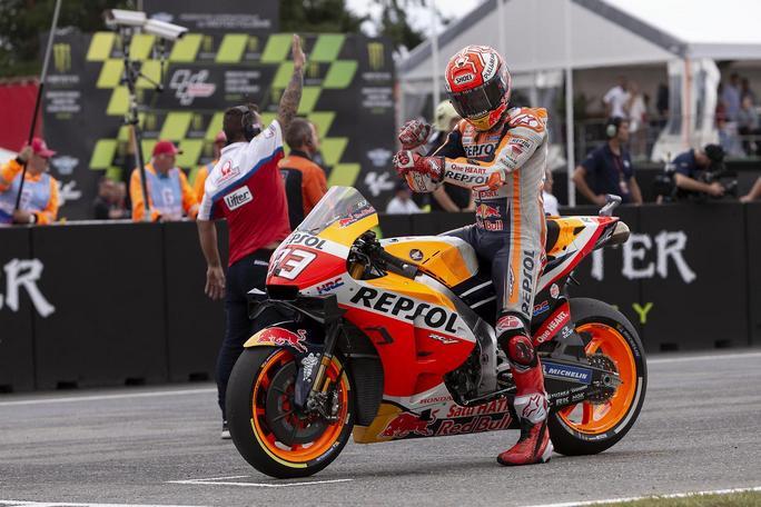 """MotoGP   Gp Austria: Marc Marquez, """"Circuito unico"""""""