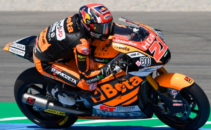 Moto2 | Gp Brno Warm Up: Di Giannantonio svetta