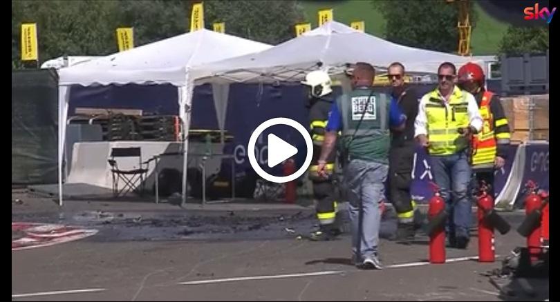 MotoE | Gp Austria: Esplosa una moto nel Paddock, si indaga sulle cause [VIDEO]