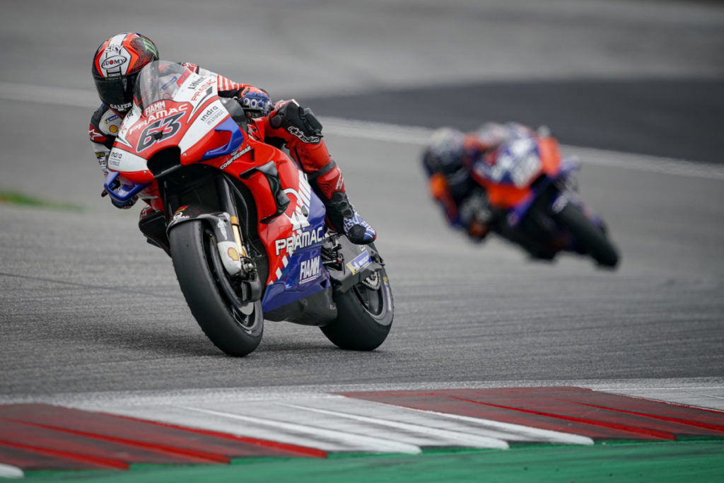 "MotoGP | Gp Austria Gara: Bagnaia, ""E' stato un bel week end"""