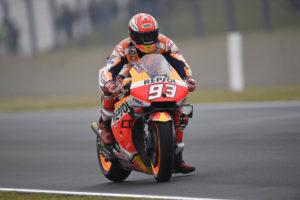 MotoGP | Gp Brno FP4: Marquez vola sul bagnato