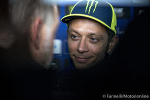"""MotoGP   Gp Silverstone Conferenza Stampa: Valentino Rossi, """"Io come Zarco ai tempi di Ducati, pensai di smettere"""" [VIDEO]"""