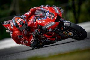 """MotoGP   Test Brno: Petrucci, """"Ci siamo focalizzati sul ritrovare la velocità"""""""