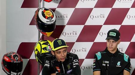 "MotoGP | Quartararo: ""Rossi è una leggenda di questo sport"""