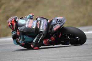 MotoGP | Gp Silverstone FP1: Quartararo al comando, Rossi è settimo