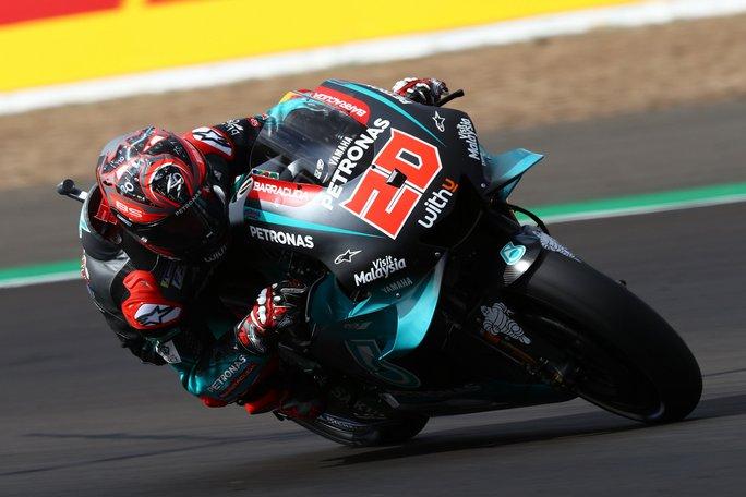 MotoGP | Gp Silverstone FP3: Yamaha al Top con Quartararo e Rossi