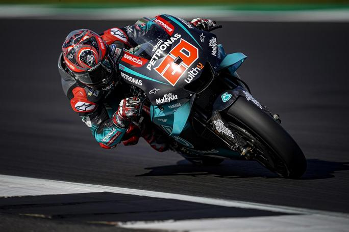MotoGP | Gp Silverstone Warm Up: Quartararo precede Marquez e Dovizioso