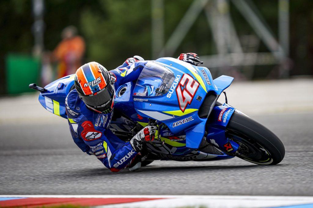 """MotoGP   Gp Brno Day 1: Rins, """"Sensazioni abbastanza buone"""""""