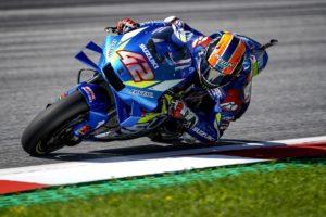 "MotoGP | Gp Austria Day 1: Rins, ""Oggi è andata bene"""