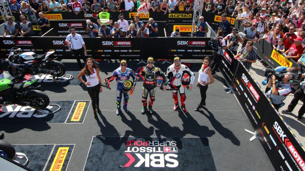 Superbike | Round Portimao, Tissot-Superpole: Jonathan Rea ne fa cinque con record