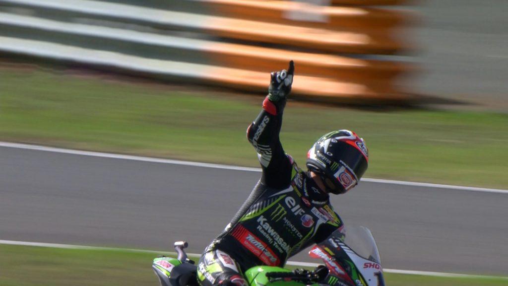 Superbike   Round Magny-Cours, Gara2: Rea riscrivere la storia ancora una volta