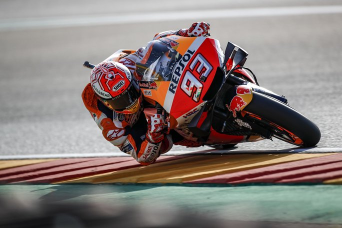 "MotoGP | Gp Aragon Day 1: Marc Marquez, ""È stato un bel giro!"" [VIDEO]"