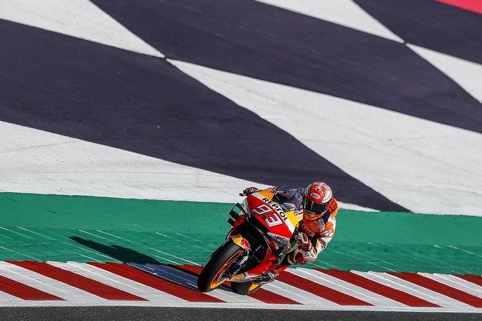 MotoGP, zampata finale di Marquez. Quarto Rossi