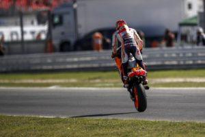"""MotoGP   Gp Misano Gara: Marquez, """"Volevo questa vittoria, ero carico dopo i fatti di ieri"""" [VIDEO]"""