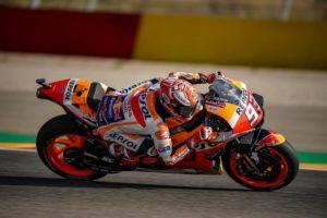 MotoGP | Gp Aragon Qualifiche: Marquez in pole, Rossi è sesto