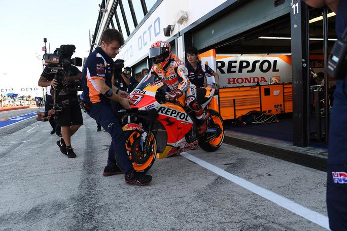 "MotoGP | Gp Aragon: Marc Marquez, ""Entusiasta di correre davanti ai miei tifosi"""