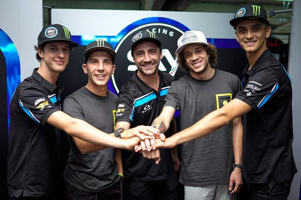 Sky Racing Team VR46 | Il team di Valentino Rossi annuncia la line up per il 2020