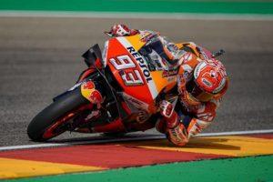 MotoGP | Gp Aragon FP4: Marquez ipoteca la pole