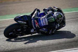 "MotoGP | Gp Aragon Warm Up: Vinales al top in condizioni ""miste"""