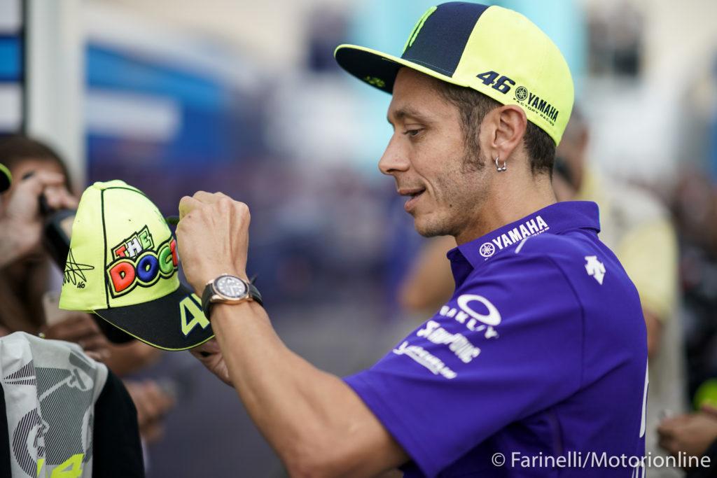 """MotoGP   Gp Misano Conferenza Stampa: Valentino Rossi, """"Proveremo a lottare per il podio"""" [VIDEO]"""