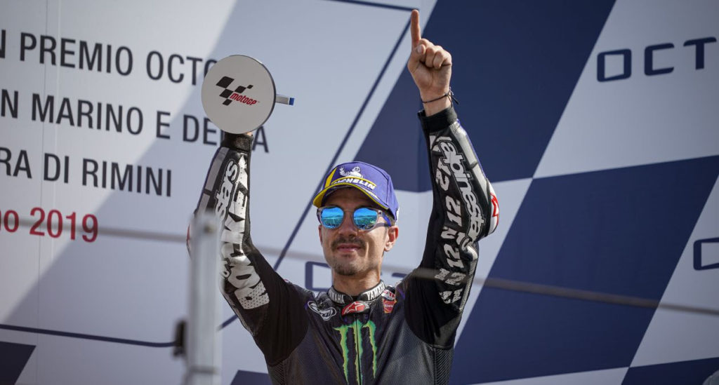 "MotoGP | Gp Misano Gara: Vinales, ""Stiamo migliorando gara dopo gara"" [VIDEO]"