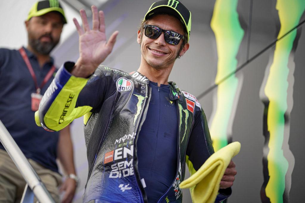 MotoGP | Gp Misano: Valentino Rossi sfilerà a Tavullia con la M1