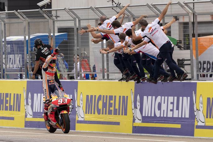 MotoGP | La gallery del Gp di Aragon: supremazia Marquez, Dovizioso grande rimonta